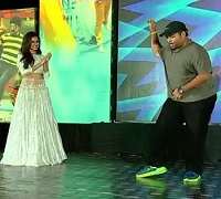Music Composer Thaman Dance Performance at Sher Audio Launch