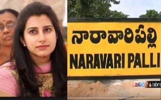 Nara Brahmani Adopts Naravaripalli   Chittoor District