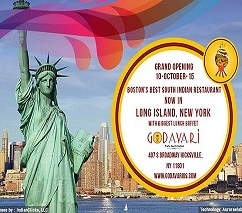 'Godavari' Authentic Indian Food now in New York