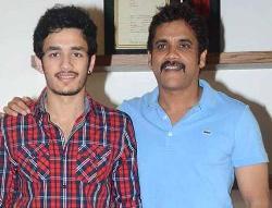 Akhil finally revealing suspense on dad's Birthday