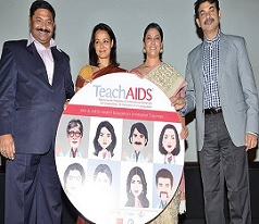 Teach AIDS Press Meet Photos