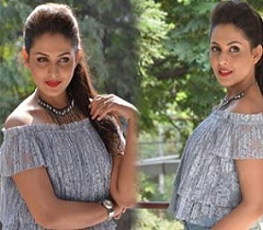Madhu Shalini New Interview Stills