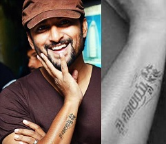 Nani Gets Inked With 'Jai Balayya' Tattoo