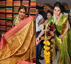 Rashi Khanna Launches Kanchipuram Kamakshi Silks Photos