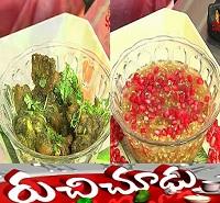 Forage Healthy Breakfast,Green Mutton Chukka Recipes – Ruchi Chudu 7th Nov