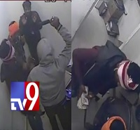 Chicken Shop Robbery Caught on Camera