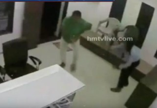Unidentified Individuals Attack on Builder In Ahmedabad | CCTV Footage