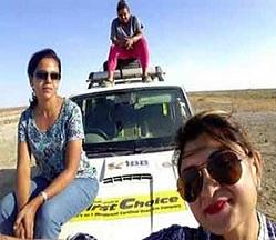 3 women, 17 counties in 97 days