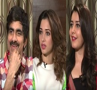 Ravi Teja, Tamanna And Rashi Khanna Special Interview