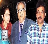 Sridevi's Husband SLAMS Ram Gopal Varma – Guns And Thighs