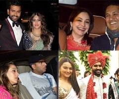 Celebs At Rohit Sharma Wedding Photos