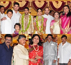 Adiseshagiri Rao Son Wedding Photos