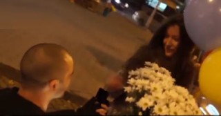 Russian Policeman Variety Love Propose