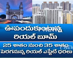 Hyderabad Real Estate attains Boom – 35% Appreciation Expected