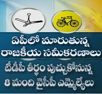 Shock To YCP | 8 YCP MLAs Ready To Join TDP