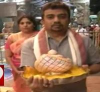 Chennai devotee donates 1 crore worth Gold crown to Lord Venkateswara