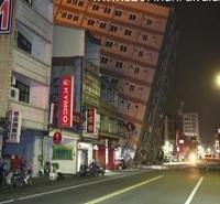 6.4 Magnitude Earthquake strikes Taiwan