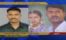 Thousands throng Lance Naik Hanumanthappa's village to bid farewell