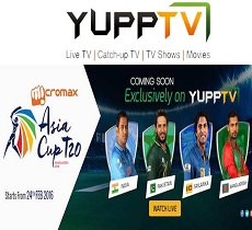 YuppTV bags the exclusive digital media rights for Asia Cup 2016