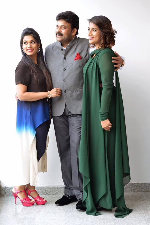 Chiranjeevi with Daughters – Exclusive Photoshoot
