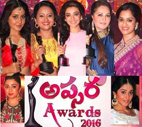 Apsara Awards – Tollywood Heroines Performances & Felicitation