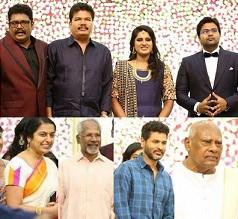 Celebs At KS Ravikumar Daughter Wedding Reception Photos