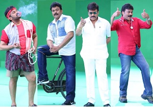 Boss is Back – Chiranjeevi Exclusive Photo Shoot