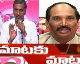 War Of Words Between Harish Rao and Uttamkumar Reddy over Mallanna Sagar Project
