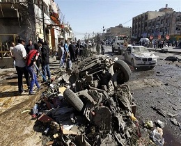 21 killed in Baghdad suicide blast || ISIS claims responsibility