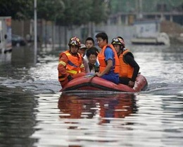 176 killed or missing in heavy rains in China