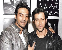 Hrithik Sent Flowers To Arjun Rampal's Home