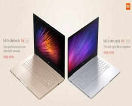 Xiaomi unveils ultra-slim laptop Mi Note Air series; price, specifications