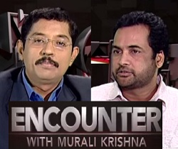 Murali Krishna Encounter with Hero Sivaji