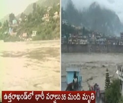 35 killed in flash floods in Uttarakhand