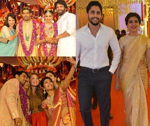 Celebs at Nimma Gadda Prasad Daughter Wedding