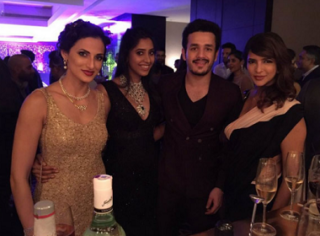 Akhil Spotted With His Girlfriend Shriya