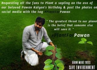After JanathaGarageChallenge, It's PlantForPawan