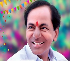 KCR Announces 63rd Birthday Gift For T- People
