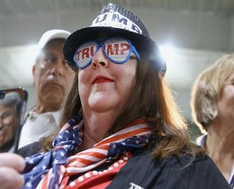 American papers dump Trump
