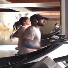Ram Charan Couple Workout in Gym
