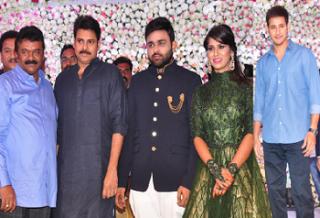 Celebrity Photos At Talasani Daughter Wedding Reception