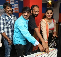 Jayammu Nischayammura Audio Launch Photos