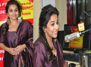 Vidya Balan Kahani 2 Movie Promotion At Radio Mirchi