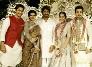 Akhil And Shriya Engagement Photos