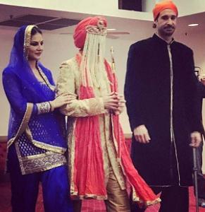Sunny Leone Brother Sandeep Vohra Wedding Photos