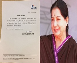 Jayalalithaa Critical: Latest Updates