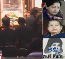 Jayalalithaa Mortal Remains At Rajaji Hall, Thousands Pay Tribute