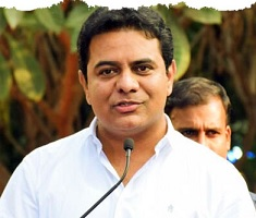 Who gave shock to KTR?