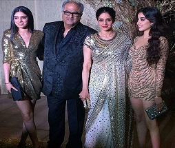 Pic: Sridevi and Her Daughters Turned Heads