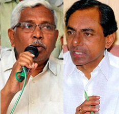 Big Fight On KCR In Social Media